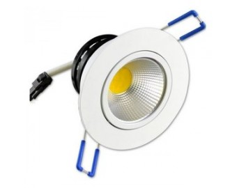 5W Recessed White Downlight LED